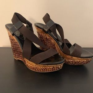 BCBG girls wedge platform